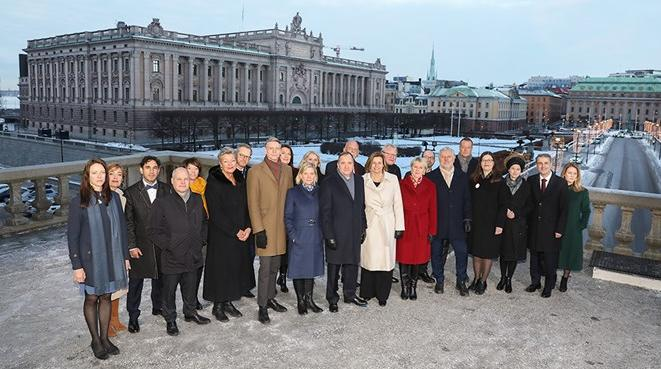 Gruppbild Regeringen