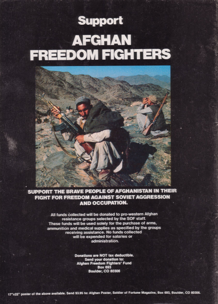 support afghan freedom fighters 1